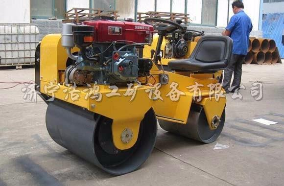 Diesel two wheel road roller